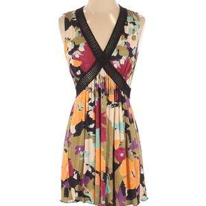 Missoni Floral Crochet Knit Mini Dress Size US 4
